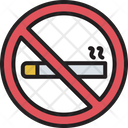 No Cigarette No Smoking Quit Smoking Icon