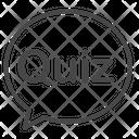Question Quiz Quiz Game Icon