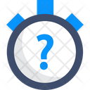 Quiz Quiz Clock Time Out Icon