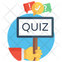 Quiz Test Competition Icon