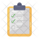 Quiz Checked List Approved List Icon