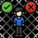 Quiz Right Dilemma Icon
