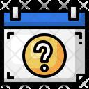Quiz Date Question Quiz Icon
