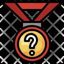 Quiz Medal Quiz Winner Medal Icon
