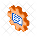 Quote Frame Gear Icon