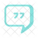 Quote Chat Icon
