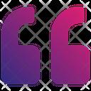 Quoteleft Icon