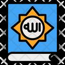 Book Muslim Religion Icon