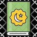 Eid Book Card Icon