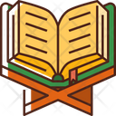 Quran Reading Book Reading Icon