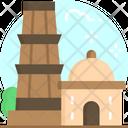 Qutub Minar Delhi City Icon