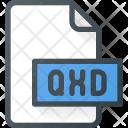 Qxd File Design Icon