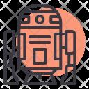 R D Robot Icon