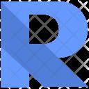 R alphabet Icon