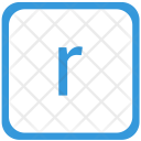 R letter Icon