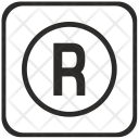 R Letter Icon