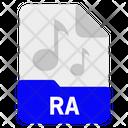 Ra file Icon