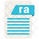 Ra Format Document Icon
