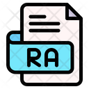 Ra File Type File Format Icon