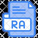 Ra Document File Icon