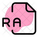 Ra Fille Audio File Audio Format Icon