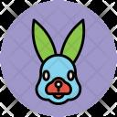 Rabbit Hare Cony Icon