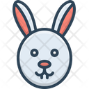 Rabbit Conejo Face Icon