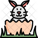 Rabbit Animal Easter Icon