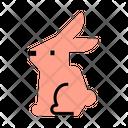 Rabbit Pet Animal Icon