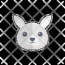 Rabbit Face Toy Icon