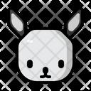 Rabbit Winter Christmas Icon