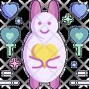 Rabbit Bunny Pet Icon