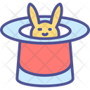 Rabbit Magic Easter Icon