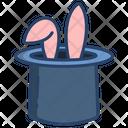 Rabbit Magic Hat Magic Cap Icon