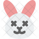 Rabbit Death Eyes Icon