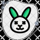 Rabbit Death Eyes Icon