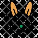Rabbit Face Leporidae Specie Icon