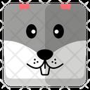 Rabbit Head Icon