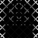 Rabbit In Basket Icon