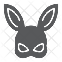 Rabbit Mask Icon