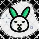 Rabbit Sleepy Icon