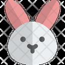 Rabbit Without Mouth Animal Wildlife Icon
