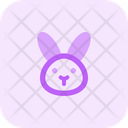 Rabbit Without Mouth Icon