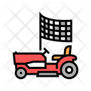 Race Lawn Mower Icon