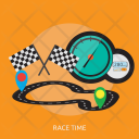 Race Time Sport Icon