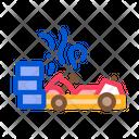 Crash Accident Kart Icon