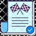 Race Permits Race Permits Permits Icon