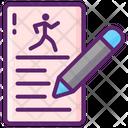 Race Registration Race Registration Registration Icon