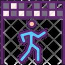 Race Walking Icon