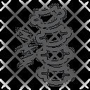 Rachiocampsis Icon